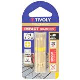 Embout Impact diamant Pozidriv Tivoly - Longueur 50 mm - 3 pièces