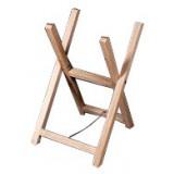 Chevalet de sciage bois - En pin - 2 branches - Hauteur 73 cm - Largeur 40 cm