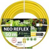 Tuyau d'arrosage Néo Reflex Cap Vert - Diamètre 15 mm - Longueur 50 m