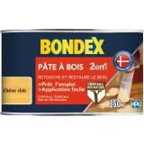 Pâte à bois 2 en 1 Bondex - Chêne clair - 250 g