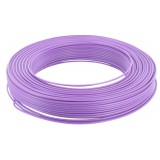 Fil H07 V-U 1,5 mm² - Couronne 100 m - Violet