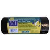 Sac poubelle de 110 l renforcé Embal'Sac - Vendu par 8