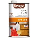 Teinte et cire Starwax - Liquide 500 ml - Chêne moyen