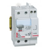 Interrupteur différentiel bipolaire - Type AC Legrand - Arrivée haut, départ bas - Intensité 63 A