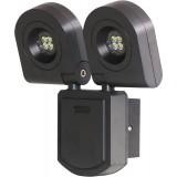Applique extérieure LED deux têtes rotatives Dhome - 2 x 10 W