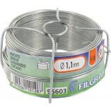 Bobinot galvanisé - Longueur 50 m - Diamètre 1,1 mm