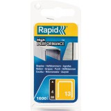 Agrafe n°13 Rapid Agraf - Hauteur 4 mm - 1600 agrafes