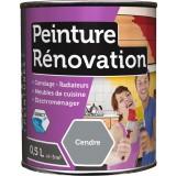 Peinture rénovation multi-surfaces Batir - Boîte 0,5 l - Cendre