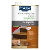 Cire anti-tâche Starlon Starwax - Liquide 1 l - Bois foncé
