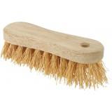 Brosse à laver chiendent monture bois naturel Brosserie Marchand - Longueur 18 cm