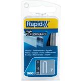 Agrafe câble n°7 Rapid Agraf - Hauteur 12 mm - 960 agrafes
