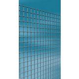 Grillage maille carrée galvanisé Cavatorta - Longueur 2,5 m - Hauteur 0,5 m - Maille 6,4 mm