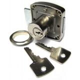Serrure en applique cylindre Strauss Vonderweidt - Longueur 44 mm - Diamètre Axe 20 mm