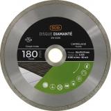 Disque diamanté carrelage universel SCID - Diamètre 180 mm