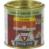 Vernis bois satiné 125 ml Avel Louis XIII - Chêne moyen