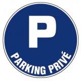 Disque plastique diamètre 30 cm Novap - Parking privé