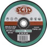 Disque à ébarber SCID - Matériaux - Diamètre 230 mm