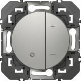 Variateur composable toutes lampes Dooxie - Legrand - Aluminium