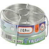 Bobinot galvanisé - Longueur 50 m - Diamètre 0,9 mm