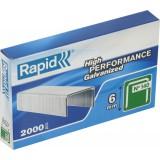 Agrafe n°140 Rapid Agraf - Hauteur 6 mm - 2000 agrafes