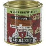 Vernis bois brillant 125 ml Avel Louis XIII - Chêne foncé