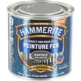 Peinture martelée Hammerite - Boîte 250 ml - Gris ardoise