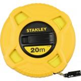 Ruban fibre de verre Stanley - Longueur 20 m - Largeur 12,7 mm