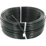 Fil de tension galvanisé plastifié Filiac - Longueur 50 m - Diamètre 2,8 mm - Vert