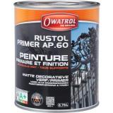 Antirouille AP60 Owatrol - Noir - Bidon 0,75 l