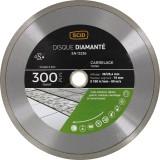 Disque diamanté carreleur professionnel SCID - Diamètre 300 mm