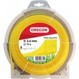Fil carré pour débroussaillage nylon Oregon - Longueur 75 m - Diamètre 2.4 mm