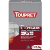 Enduit de réparation extérieure poudre Toupret - 1,5 kg