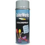 Peinture brillante Colorworks - Gris argent