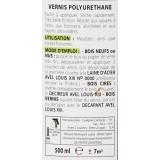 Vernis bois brillant 500 ml Avel Louis XIII - Incolore