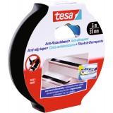 Ruban adhésif anti-dérapant Tesa - Largeur 25 mm - Longueur 5 m - Noir