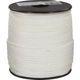 Drisse polyamide tressé blanc Corderies Tournonaises - Longueur 100 m - Diamètre 3 mm