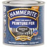 Peinture martelée Hammerite - Boîte 250 ml - Noir