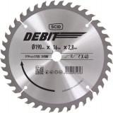 Lame au carbure pour scie circulaire SCID - Epaisseur 2,8 mm - 40 dents - Diamètre 190 mm - Alésage 16 mm