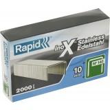Agrafe inox n°140 Rapid Agraf - Hauteur 10 mm - 2000 agrafes