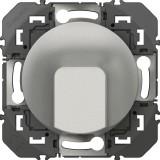 Sortie de câble standard composable Dooxie Legrand - Aluminium