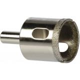 Trépan couronne diamantée avec foret centreur SCID - Diamètre 35 mm