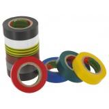 Lot ruban adhésif PVC Scapa - Assortiment de couleurs