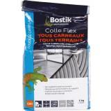 Colle tous carreaux sans poussière Bostik - Gris - Sac 5 kg