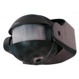 Détecteur de mouvement infrarouge Tibelec - Noir
