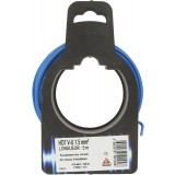 Fil H07 V-U 1,5 mm² Dhome - Longueur 5 m - Bleu