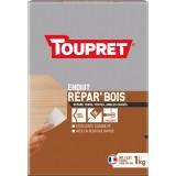 Enduit de réparation bois en poudre Toupret - 1 kg