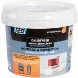 Mastic réfractaire - 600 g - Calorygeb - Geb