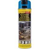 Traceur de chantier Motip - Bleu fluo - 500 ml