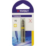 Embout torsion pour vis Phillips 50 mm Tivoly - PH2 - Vendu par 1