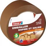 Ruban adhésif d'emballage rapide et solide Tesa - Largeur 50 mm - Longueur 100 m - Marron